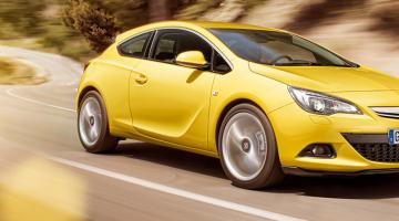 Opel gtc amarillo
