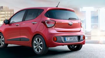 Hyundai i10 Rojo