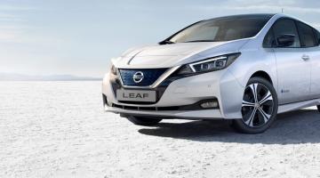 Nissan Leaf gris