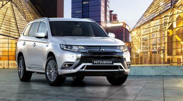 Mitsubishi outlander phev blanco