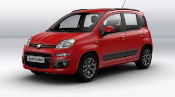 Fiat Panda rojo
