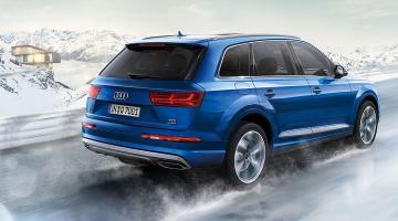 Audi q7 azul