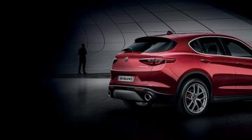 Alfa Romeo Stelvio rojo