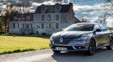 Renault talisman gris