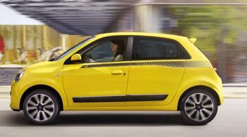 Renault Twingo amarillo