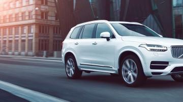 Volvo xc90 blanco