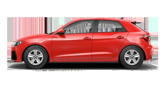 Audi A1 rojo
