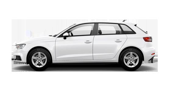 Audi A3 Sportback blanco