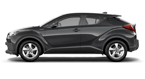 Toyota C-HR negro