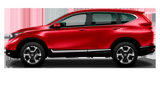 Honda CR-V rojo-rally