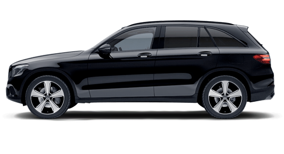 Mercedes Benz GLC Todoterreno negro