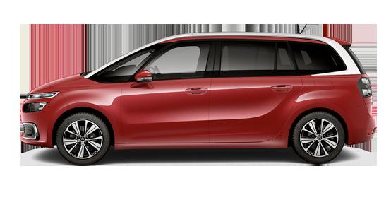 Citroën Grand C4 Spacetourer rojo