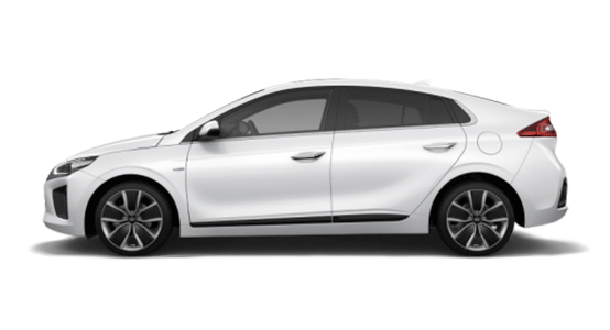 Hyundai Ioniq Eléctrico blanco