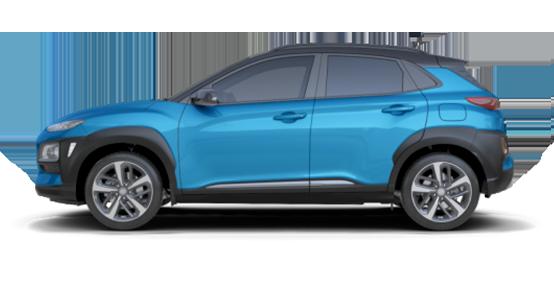 Hyundai Kona de renting