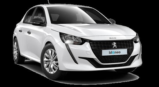 Peugeot 208 5 Puertas blanco