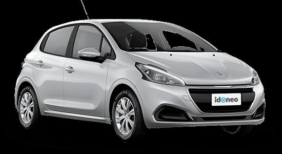 Peugeot 208 5 Puertas plata