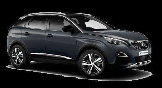Peugeot 3008 SUV gris-hurricane