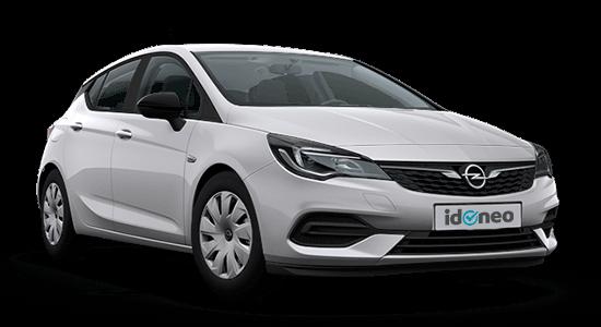 Opel Astra 5 puertas plata