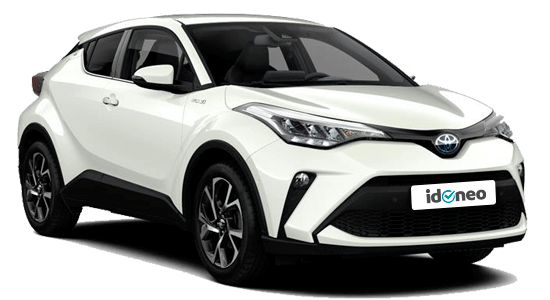 Toyota C-HR blanco