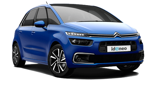 Citroën C4 Spacetourer azul