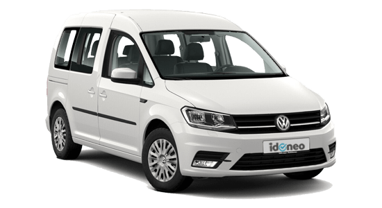Volkswagen Caddy blanco