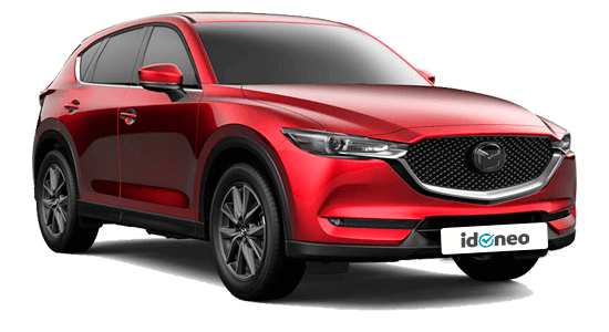 Mazda CX-5 rojo