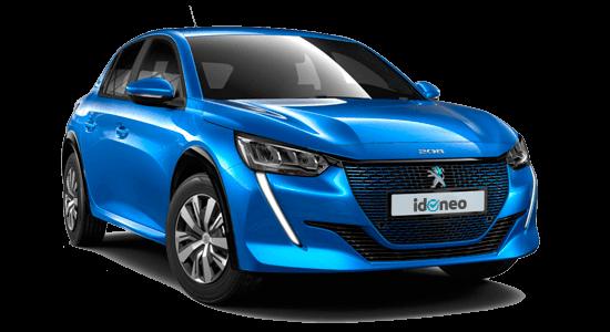 Peugeot e-208 100 Kw de renting