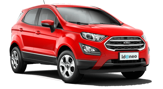 Ford EcoSport rojo