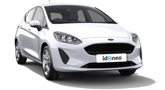 Ford Fiesta blanco