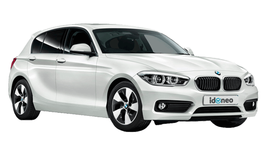 BMW Serie 1 cinco puertas blanco