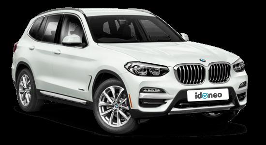 BMW X3 blanco-2019