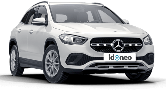 Mercedes Benz GLA Todoterreno blanco-polar