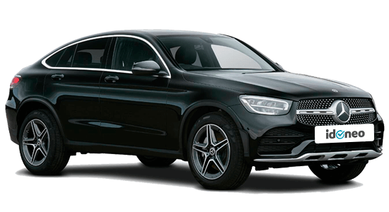 Mercedes Benz GLC Coupé negro