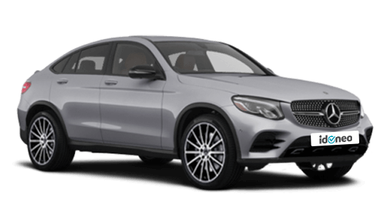Mercedes Benz GLC Coupé plata