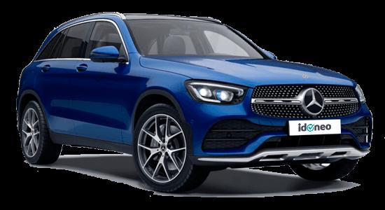 Mercedes Benz GLC Todoterreno azul