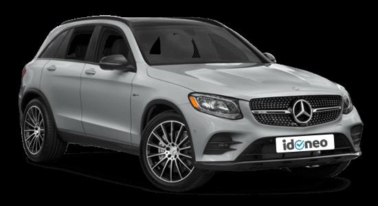 Mercedes Benz GLC Todoterreno plata