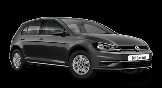 Volkswagen Golf negro
