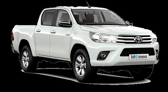 Toyota Hilux blanco