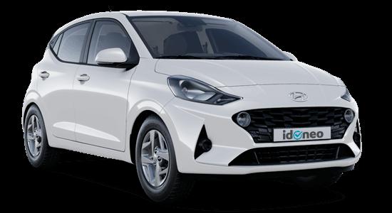 Hyundai i10 blanco