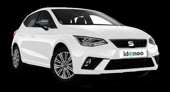 Seat Ibiza blanco