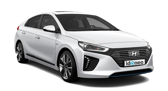 Hyundai EV de renting