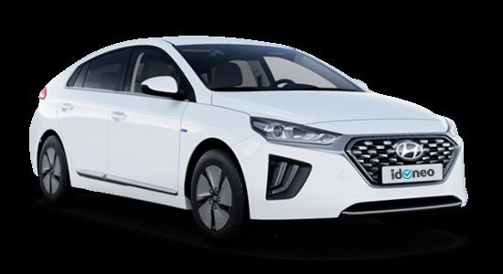 Hyundai Ioniq Híbrido Autoenchufable blanco