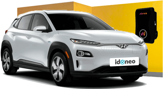 Hyundai Kona Eléctrico blanco
