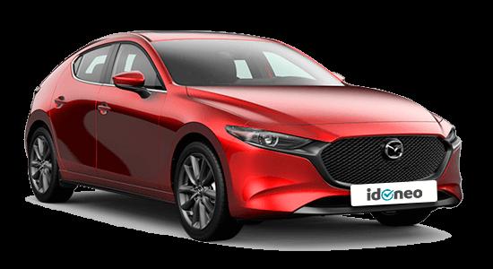 Mazda Mazda3 5 Puertas rojo