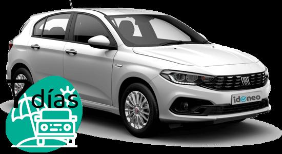 Fiat Tipo HB Life 1.0 (100CV) de renting