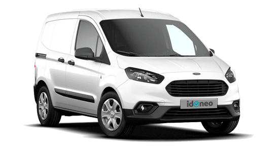 Ford Transit Courier blanco-2019
