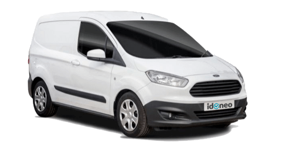 Ford Transit Courier blanco
