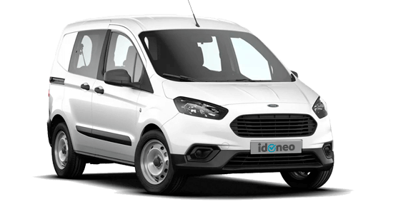 Ford Transit Courier Kombi blanco