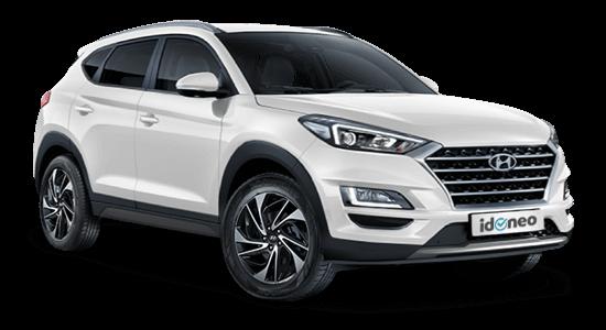 Hyundai Tucson blanco