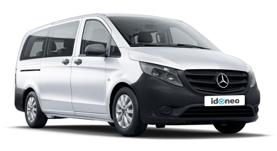 Mercedes Benz Vito blanco-tourer